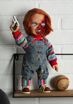 Childs Play 3 Chucky Talking Doll Pizza Face Version