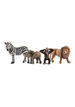 Wild Life Safari Action Figures Starter Set
