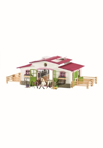 Horse Club Riding Center w/ Accessories Set