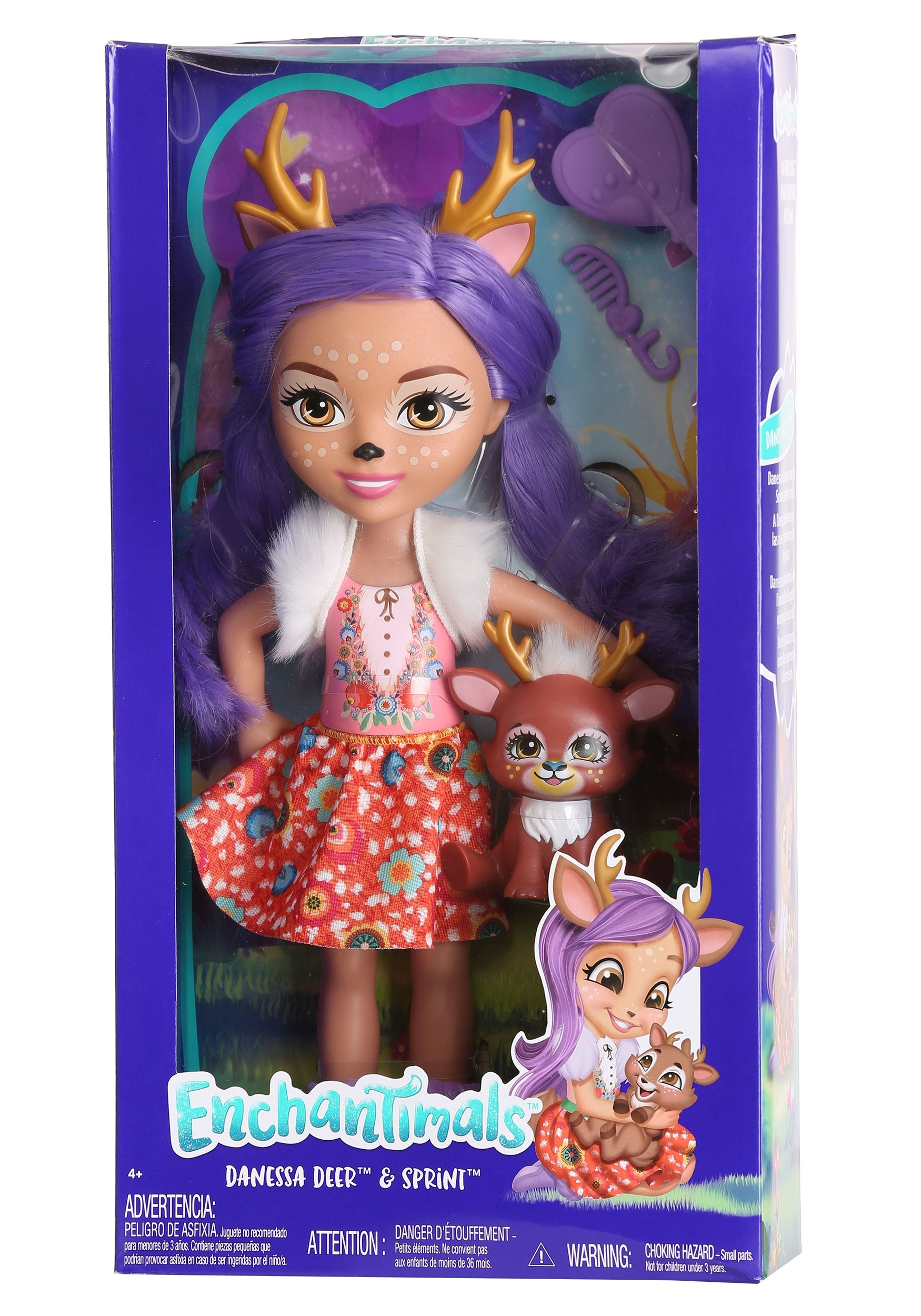 Enchantimals Danessa Deer Amp Sprint Dolls