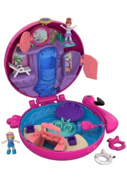 Polly Pocket Flamingo Float Compact