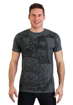 Funko Tee: Overwatch- Roadhog Jumbo Print T-Shirt