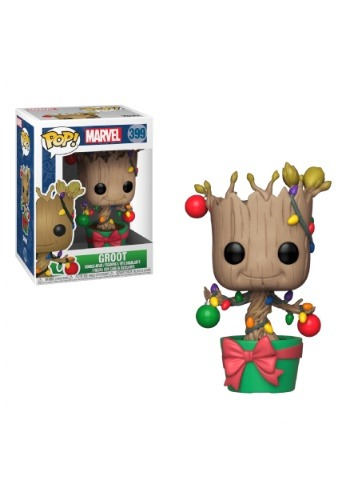 Pop! Marvel Holiday Groot with Lights & Ornaments