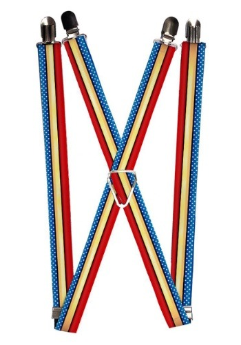 "Stars and Stripes Wonder Woman 1"" Suspenders"