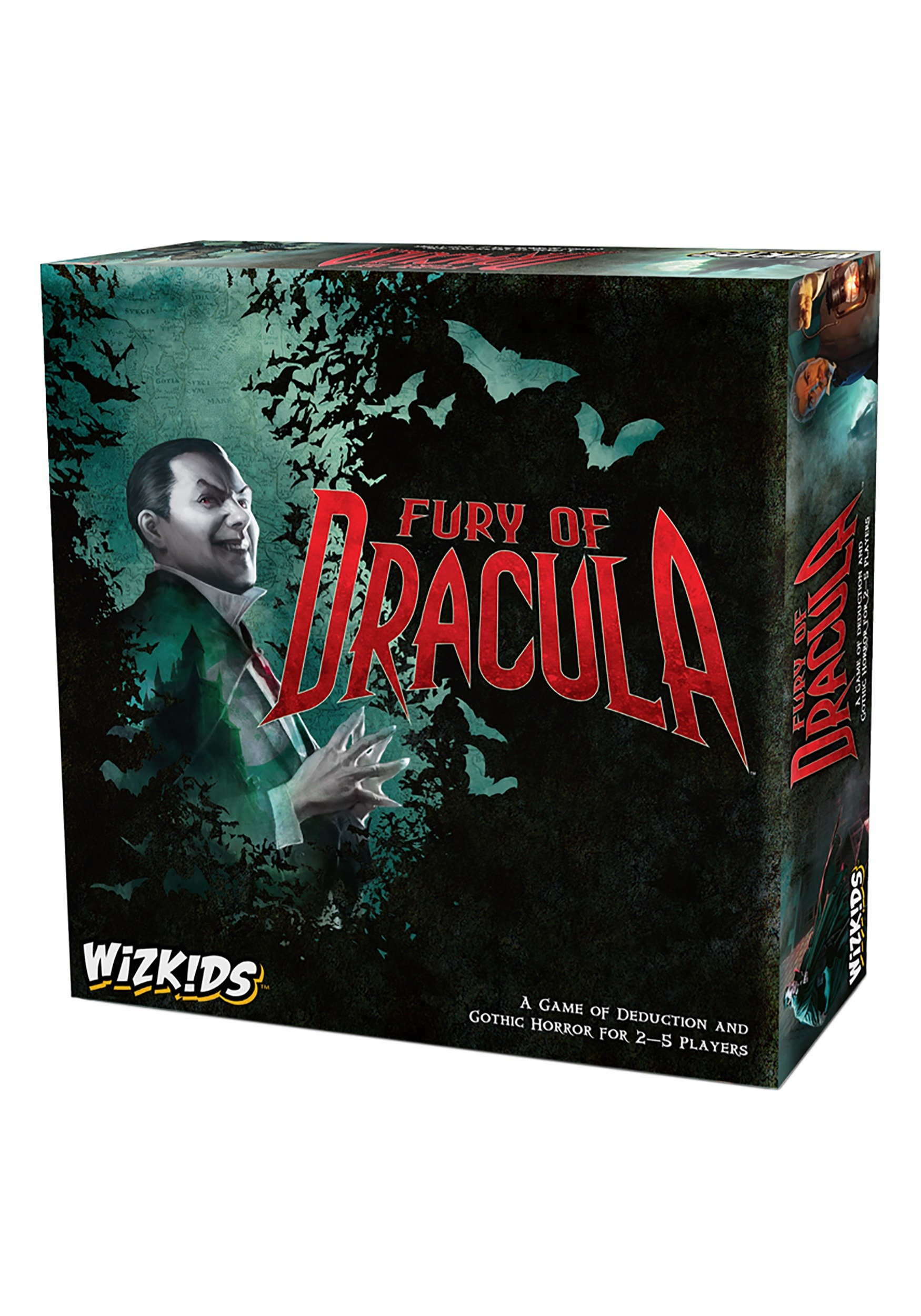 Fury of Dracula 4th Edition Board Game