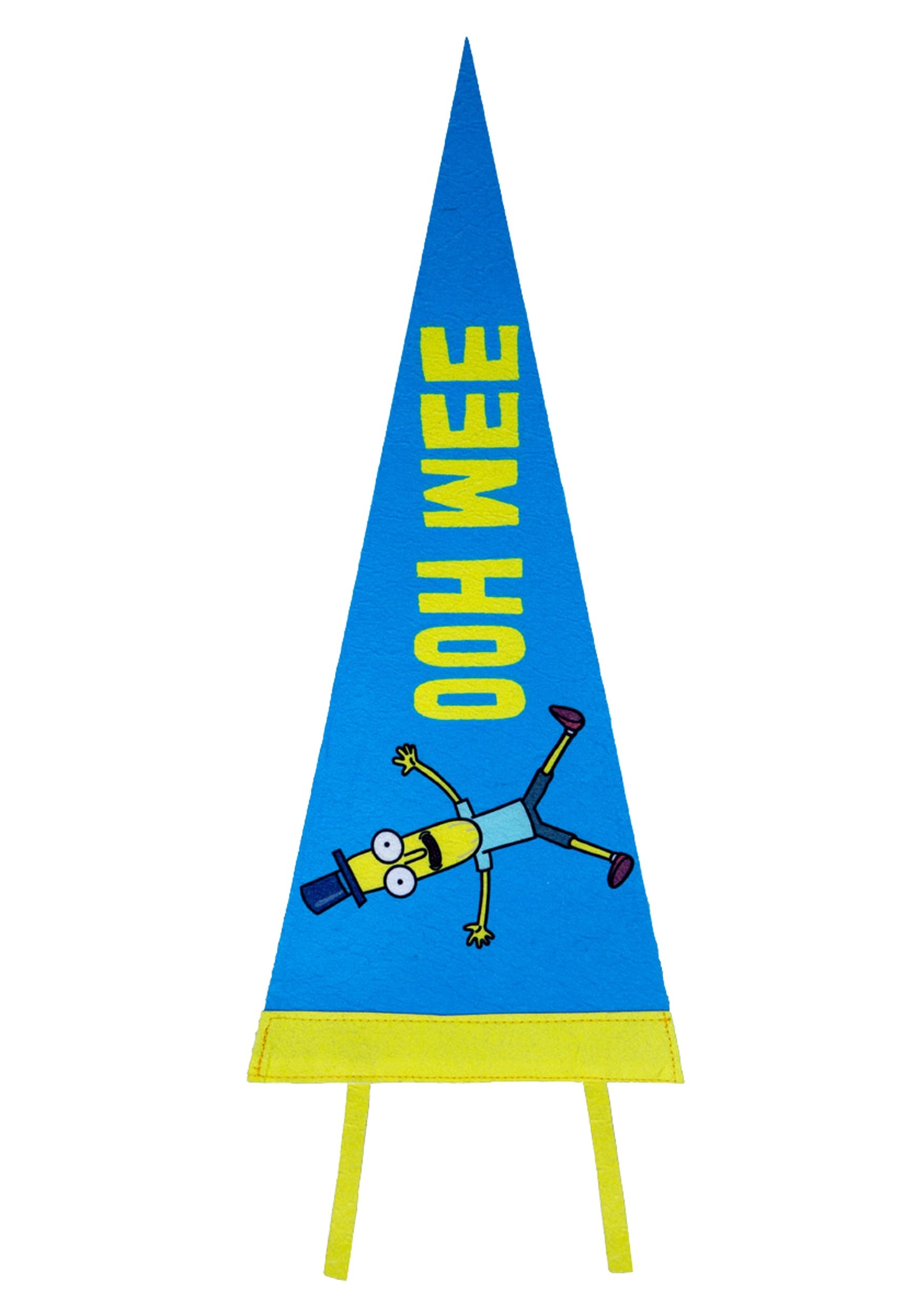 Mr. Poopy Butthole OOH WEE Felt Pennant from Rick and Morty
