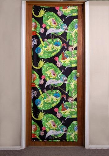 """Rick and Morty Portals 26"""" x 78"""" Door Banner"""