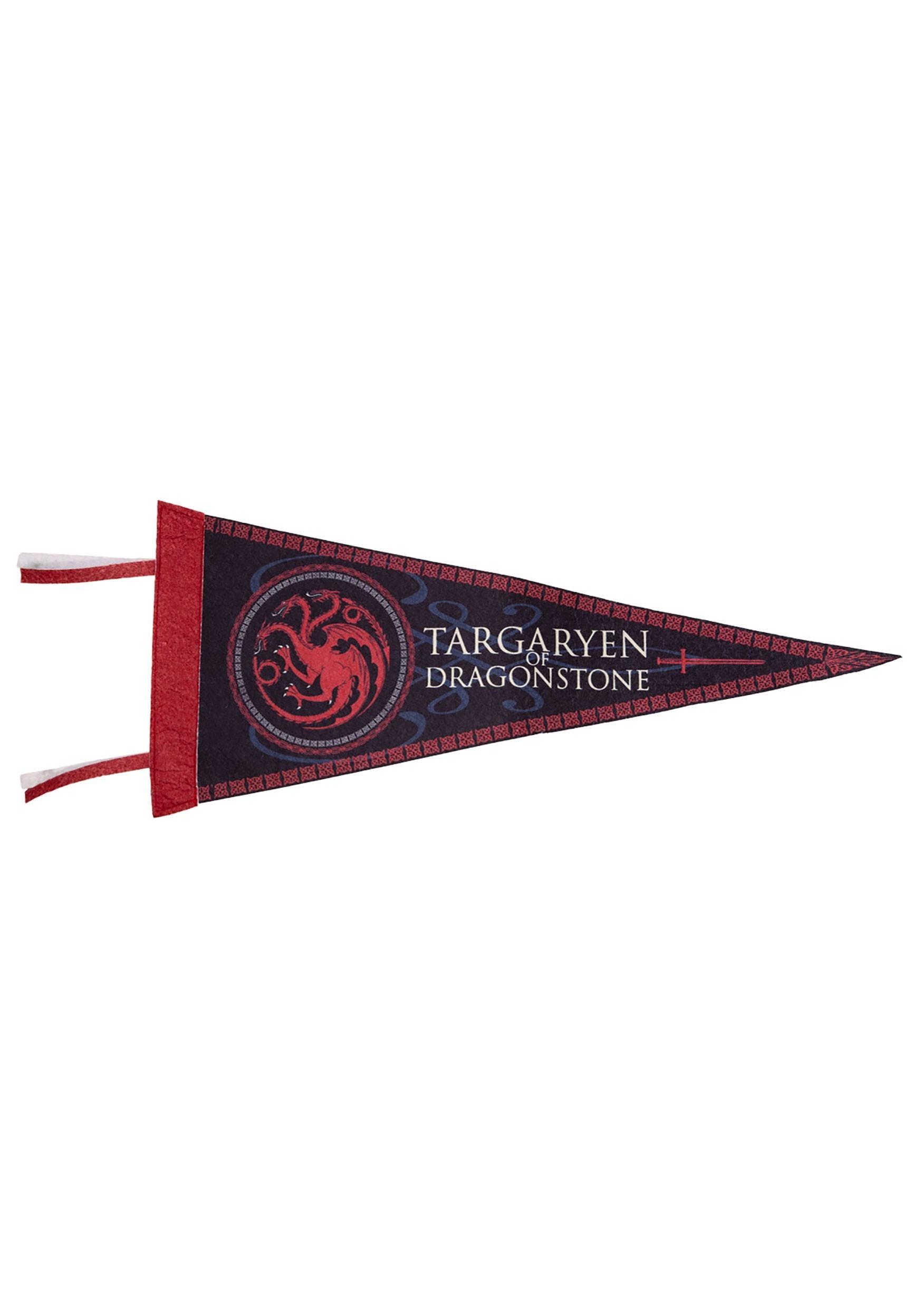 Targaryen of Dragonstone Felt Pennant From Game of Thrones