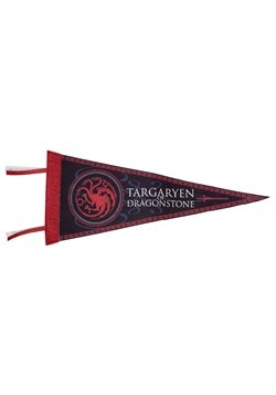 Game of Thrones Targaryen of Dragonstone Felt Flag