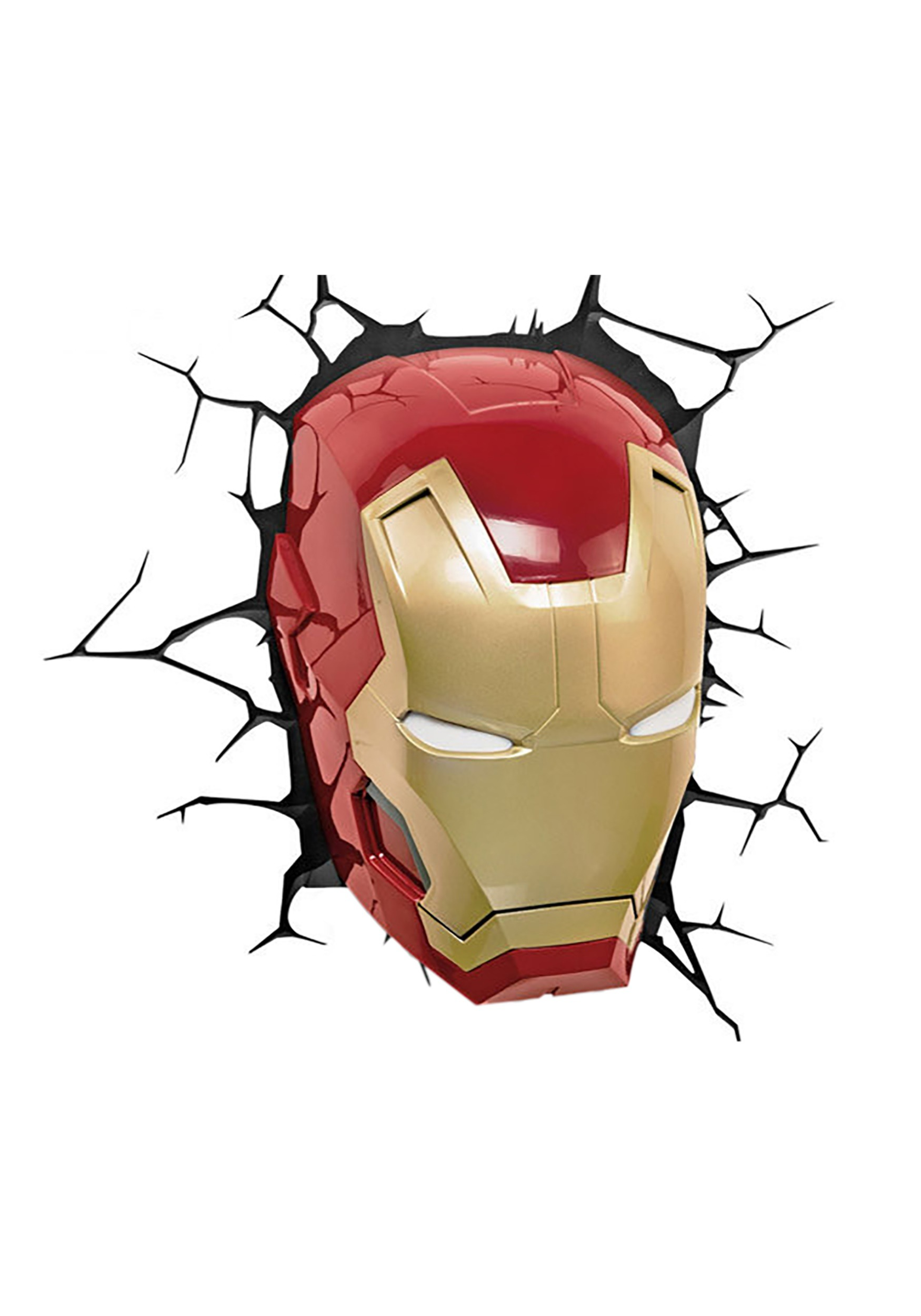 Classic Iron Man Mask 3D Light