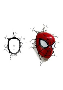 Marvel Spiderman Mask 3D Light