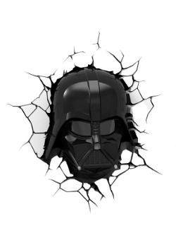 3D Darth Vader Mask Light