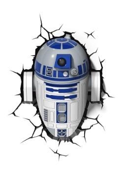 Star Wars R2D2 3D Wall Light