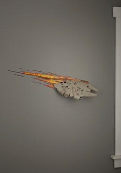 Star Wars Millennium Falcon 3D Wall Light Update