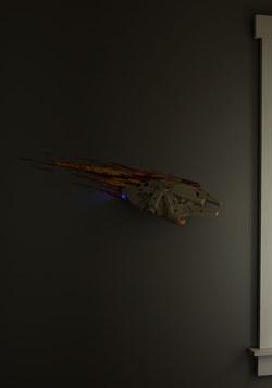 Star Wars Millennium Falcon 3D Wall Light alt 4