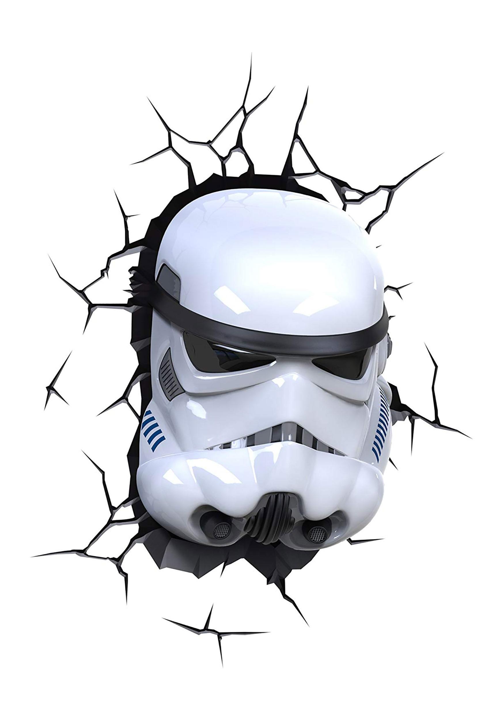 3d Star Wars Storm Trooper Light