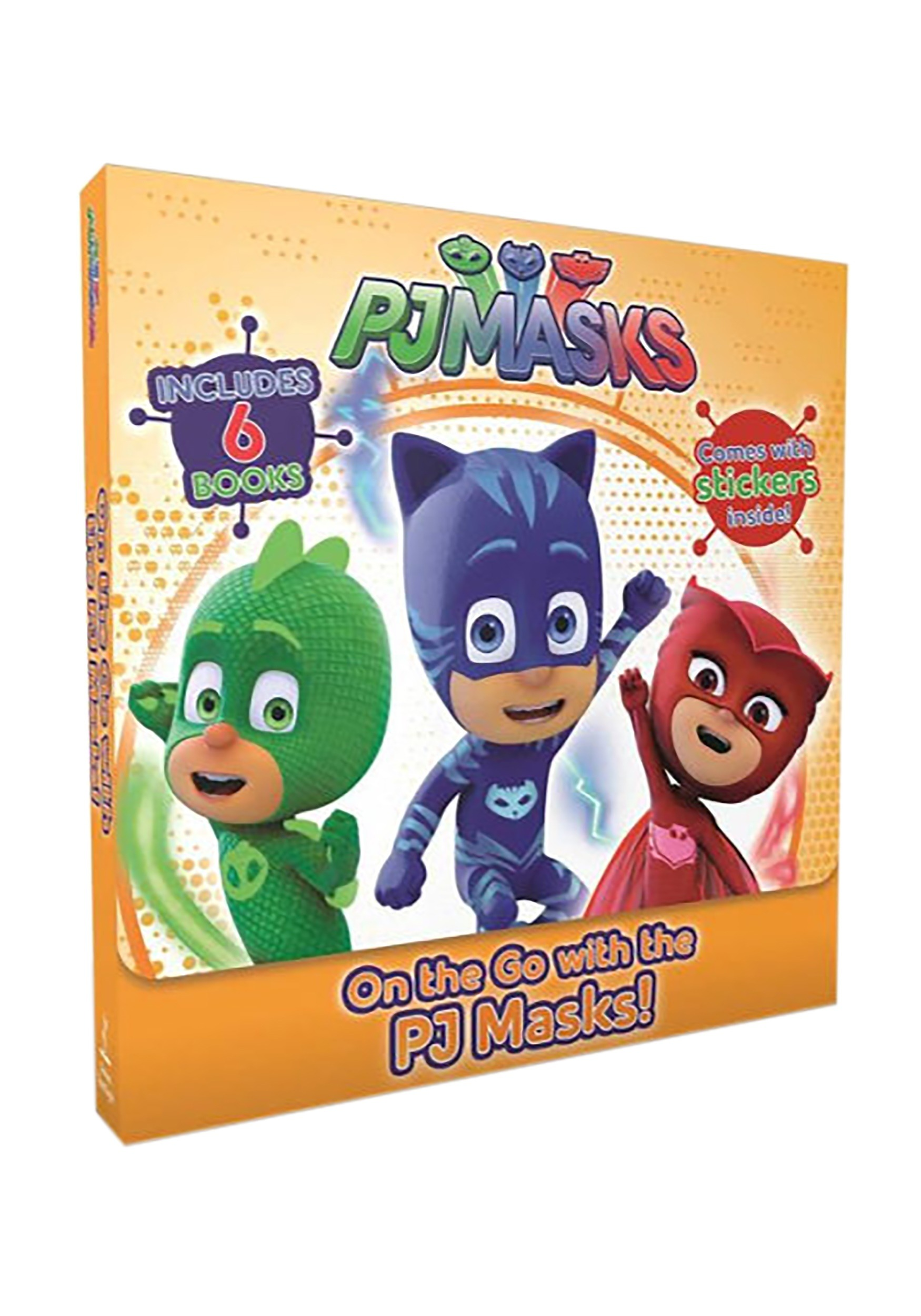 On the Go with the PJ Masks! Box Set