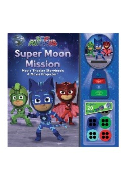 PJ Masks Super Moon Mission Movie Theater and Storybook