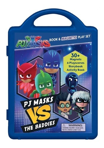 PJ Masks PJ Masks Vs the Baddies Storybook and Magnetic Play