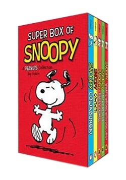 Super Box of Snoopy A Peanuts Book Collection