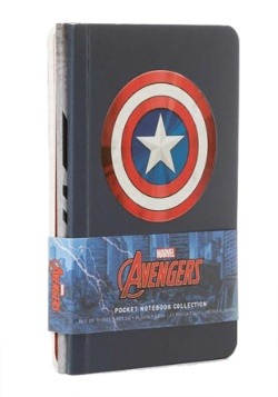 Marvel's Avengers- Pocket Notebook Collection (Set of 3)