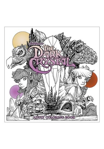 Jim Henson's The Dark Crystal- Adult Coloring Book