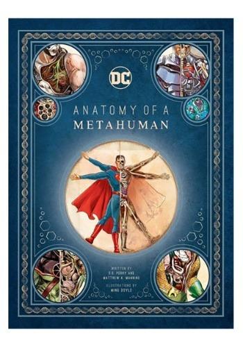 DC Comics: Anatomy of a Metahuman- Hardcover1