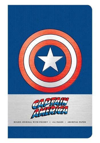Marvel's Captain America: Hardcover Ruled Journal1