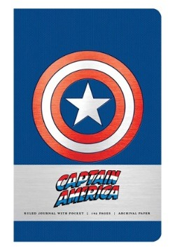 Marvel's Captain America: Hardcover Ruled Journal1