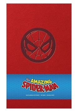 Marvel's SpiderMan Hardcover Ruled Journal