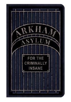DC Comics: Arkham Asylum -Desktop Stationery Set (with Pen3