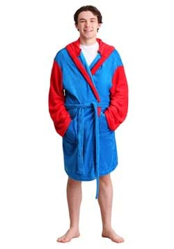Adult Mario Hooded Bathrobe Update Main