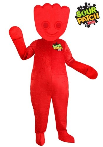 Adult Red Sour Patch Kids Costume