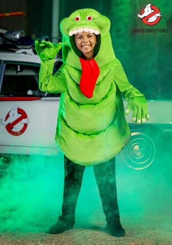 Slimer Ghostbusters Kids Costume main