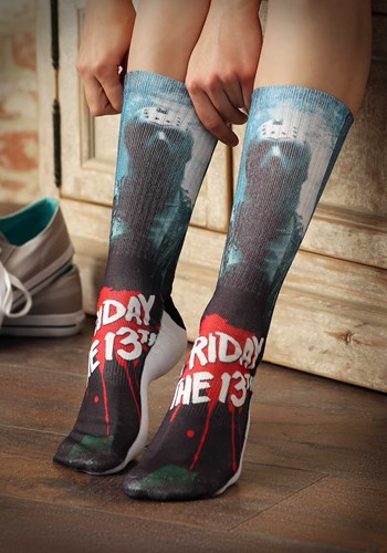 Friday the 13th Jason Men's Crew Socks