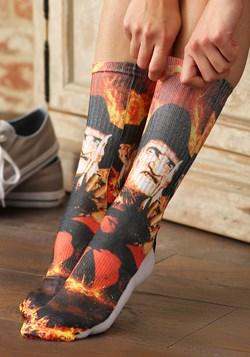 Men's Nightmare on Elm Street Freddy Krueger Crew Socks