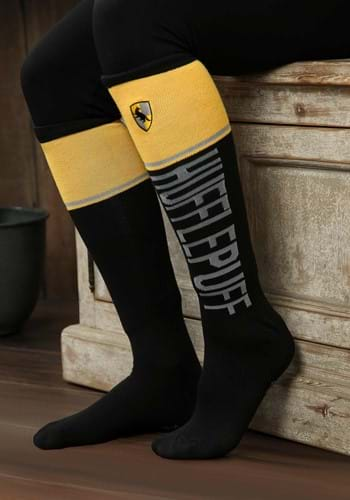 Harry Potter Womens Hufflepuff Knee High Socks