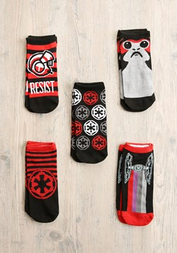 Womens Star Wars The Last Jedi 5Pair LowCut Socks update