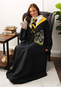 Harry Potter Hufflepuff Comfy Blanket Throw