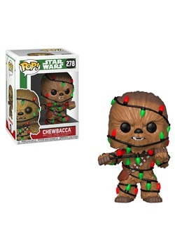 Pop! Star Wars: Holiday- Chewie with Lights