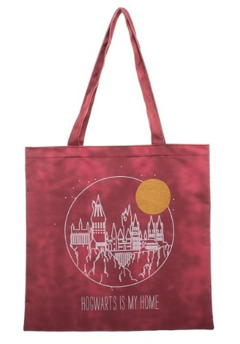 Harry Potter Hogwarts Is My Home Canvas Tote Treat Bag