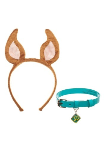 Scooby Doo Cosplay Collar and Headband Set