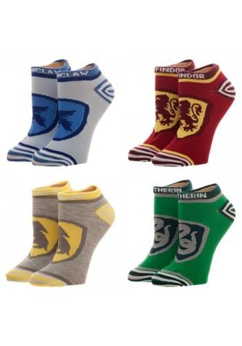 Harry Potter Crests 4PK Juniors Ankle Socks