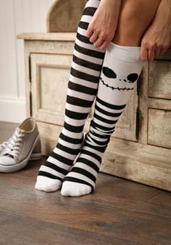 Jack Skellington Over The Knee Womens Socks Upd