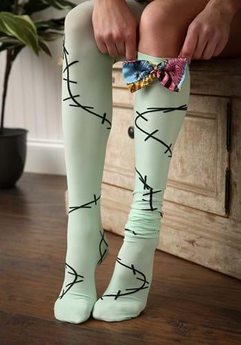 Nightmare Before Christmas Sally Over The Knee Womens Socks-