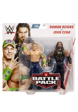 WWE John Cena vs Roman Reigns Battle Pack