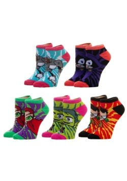 Teen Titans Go 5 Pack Ankle Sock Set