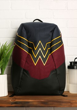 Wonder Woman EL Lighted 3 Panel Powered Backpack