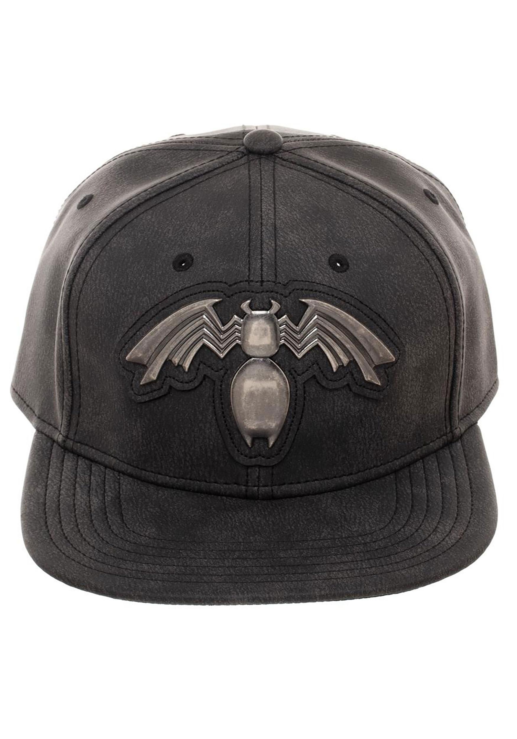 Adult Venom Distressed PU Snapback Hat 79bc228268d9