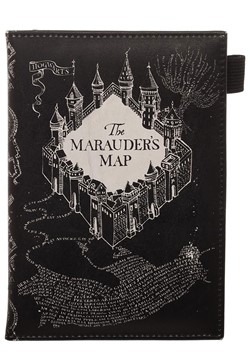Harry Potter Marauders Map Travel Passport Wallet